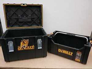 DEWALT TOUGH SYSTEM PAIRING DEAL DS280 TOTE + DS400 STYLE CASE CARRYING CASE
