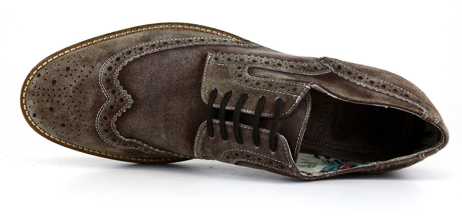 Vince Camuto Venety Venety Venety Suede Oxford Shoe Brown Uomo Sz 12 D 1259 3d8217