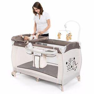 hauck baby reisebett babycenter zoo kinderreisebett mit wickelauflage rollen ebay. Black Bedroom Furniture Sets. Home Design Ideas