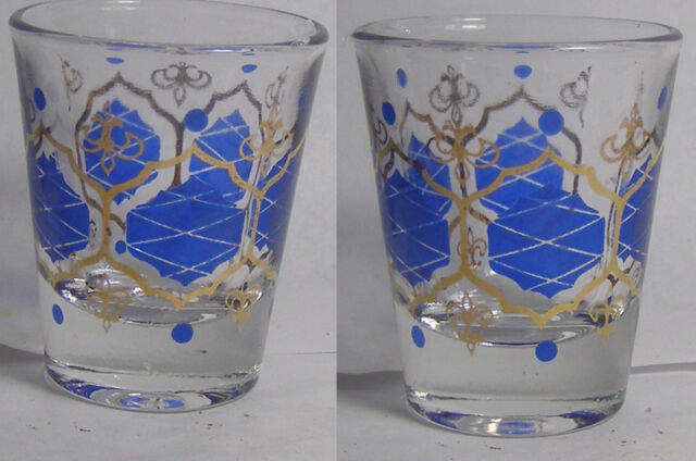 Ornate Pattern Shot Glass #2543
