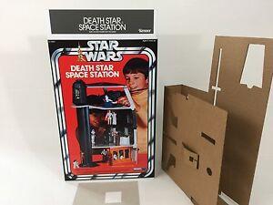 Remplacement de la boîte à mort Kenner Vintage Star Wars et inserts Deathstar