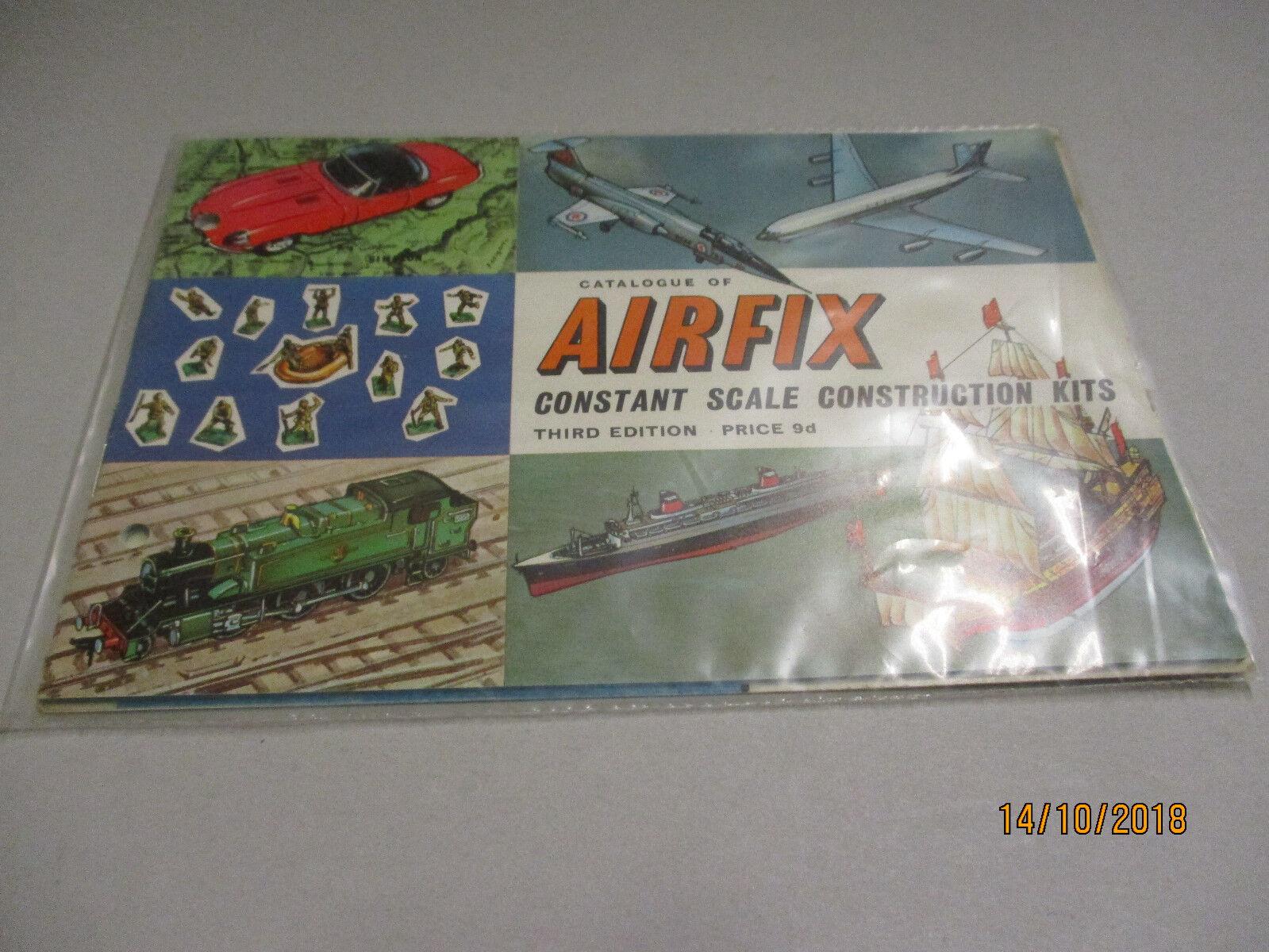 Airfix MODELLO KIT  catalogo 1966