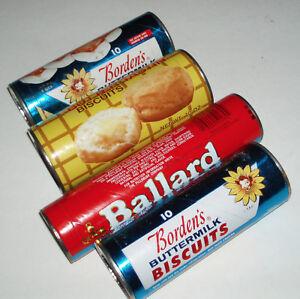 1970s Pillsbury Hungry Jack Bordens Biscuit Tins Prop Unused Ebay