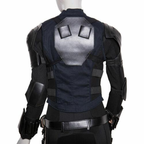 Cosplay Avengers3 Infinity War Black Widow Costume Natasha Romanoff Full Set New