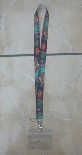 Disney/'s Pirates of the Caribbean Ride Lanyard Trading inc Waterproof Holder