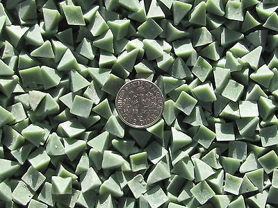 5 Lb 3//8 X 5//8 Pyramid Plastic Tumbling Tumbler Tumble Dark Green Media X General Purpose