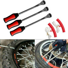 3spoon Motorcycle Tire Iron Irons Changing Rim Protector Tool Combo New Lever