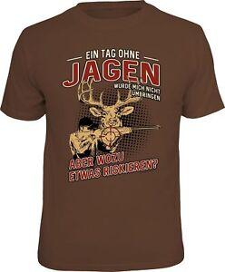 Divertido-Cazador-Camiseta-Un-dia-sin-CAZA-CAZA-Camiseta-Regalo-De-Cumpleanos
