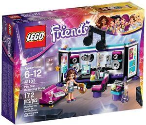 LEGO-Friends-Pop-Star-Recording-Studio-41103-Retired-2015-Rare-NEW