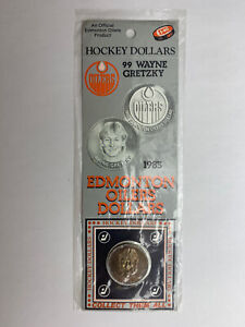1983-NHL-Official-Edmonton-Oilers-Hockey-Dollars-Wayne-Gretzky-Sealed-Original
