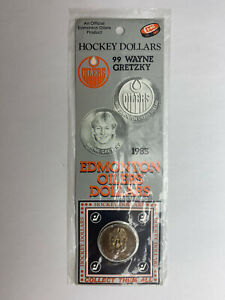 1983-NHL-Official-Edmonton-Oilers-Hockey-Dollars-Wayne-Gretzky-Sealed-Original