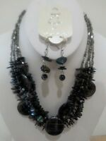 Wholesale Lot 5 Sets High End Quality Costume Jewelry Necklace & Earrings
