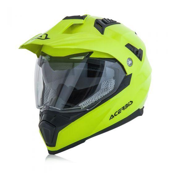 ACERBIS FLIP FS 606 CASCO HELMET ENDURO MOTARD ATV GIALLO FLUO