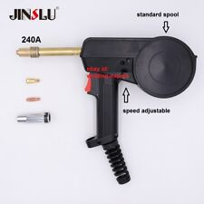 No Cable 240a Mig Spool Gun Head 24v Wire Feed Aluminum Welder Unimig Style