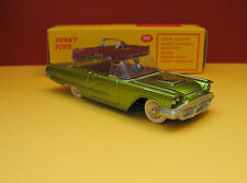 Dinky Toys #555 1:43 Scale 1960 Green Ford Thunderbird w/box FREE SHIP U.S.A.