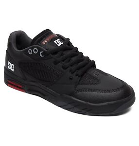 new Trainers Maswell Dc Suola gomma 473 9s Leather Shoes Skate Black Mens in rtqExRIEw