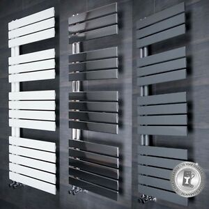 Image Is Loading Heated Towel Rail Bathroom Radiator Designer Flat Panel
