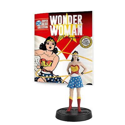 """Wonder Woman /""""mythologies du #1 années 1980 classique DIANA PRINCE de 6 DC eaglemoss"""
