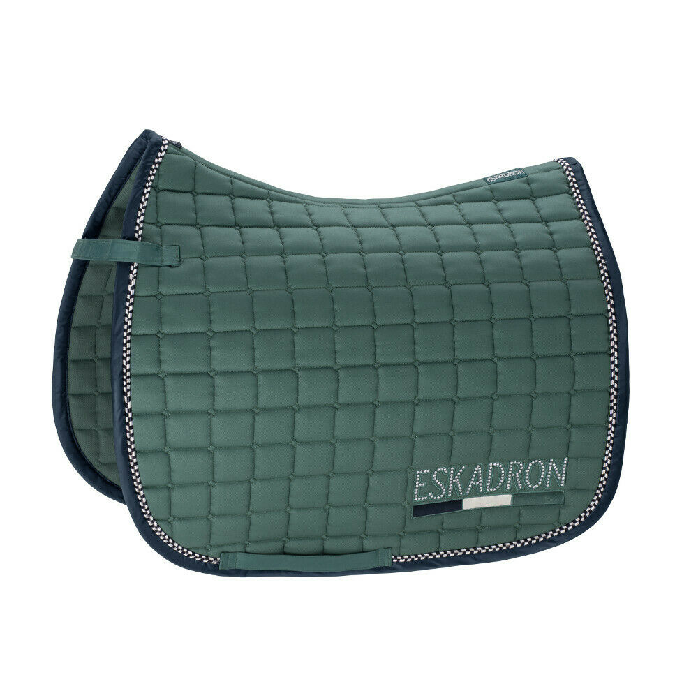 Eskadron Classic Sports (FS 2019) Saddle Cloth Cotton Crystal - seapine green -