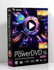 CyberLink PowerDVD 16 Ultra  W/ Photo Director 7 Deluxe  @NEW@