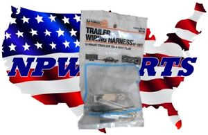 U3112 Trailer Wiring Harness U-Haul TRAILER TO 4 WAY FLAT | eBay on small fiberglass camper trailers, timberland trailers, volvo trailers, load bars for tractor trailers, walmart trailers, teardrop trailers, matchbox trailers, towing trailers, aaa trailers, equipment trailers, truck trailers,