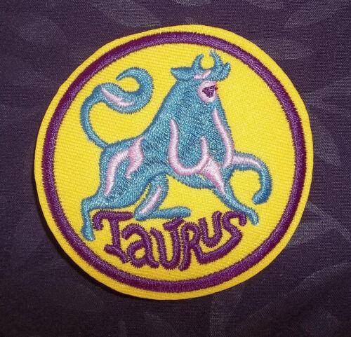 TAURUS PATCH ASTROLOGICAL SIGN ZODIAC SIGN HOROSCOPE ASTROLOGY SEW// IRON DIY