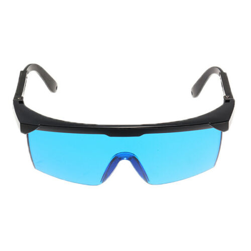 Laser Goggles Safety Glasses Protective Eyewear PC with Adjustable legs
