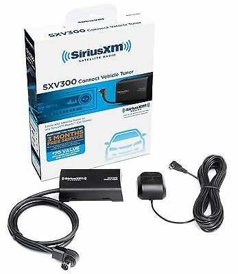 SiriusXM SXV300v1 Satellite Radio Connect Vehicle Tuner Kit for Satellite Radio