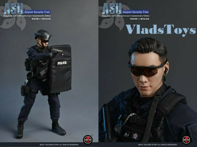 Soldier Story Action Figures 1//6 Scale FAST Helmet ASU Hong Kong SAR 20
