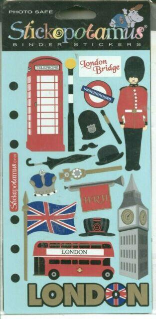 British Museum:Planner Stickers Erin Condren London Eye S339-Tower of London