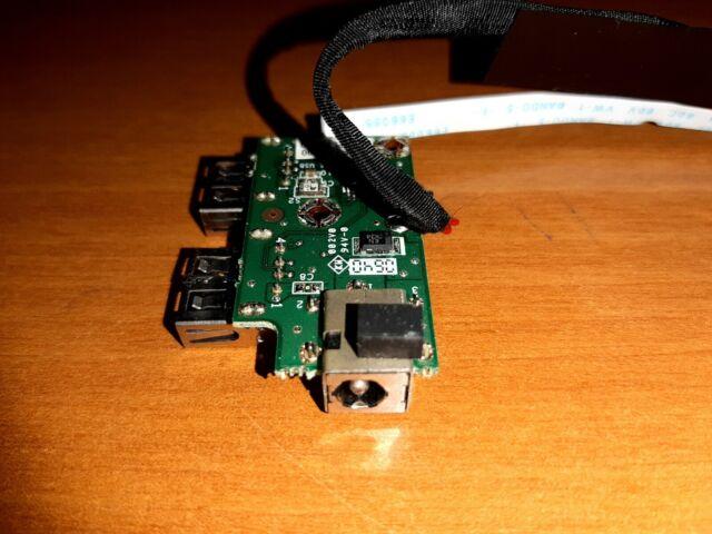 Fujitsu siemens amilo m1420 red parte hembra toma de corriente DC Jack socket Connecteur