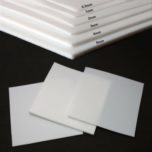 0.5//1//2//3//4//6mm Thickness PTFE Film Sheet Plate High Temperature Plastic Sheet