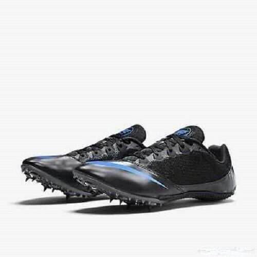 best cheap 34be0 ff5f0 Nike Zoom Rival S 7 Mens Track Field Spikes Sprint Running Shoes Black Blue  11 for sale online   eBay