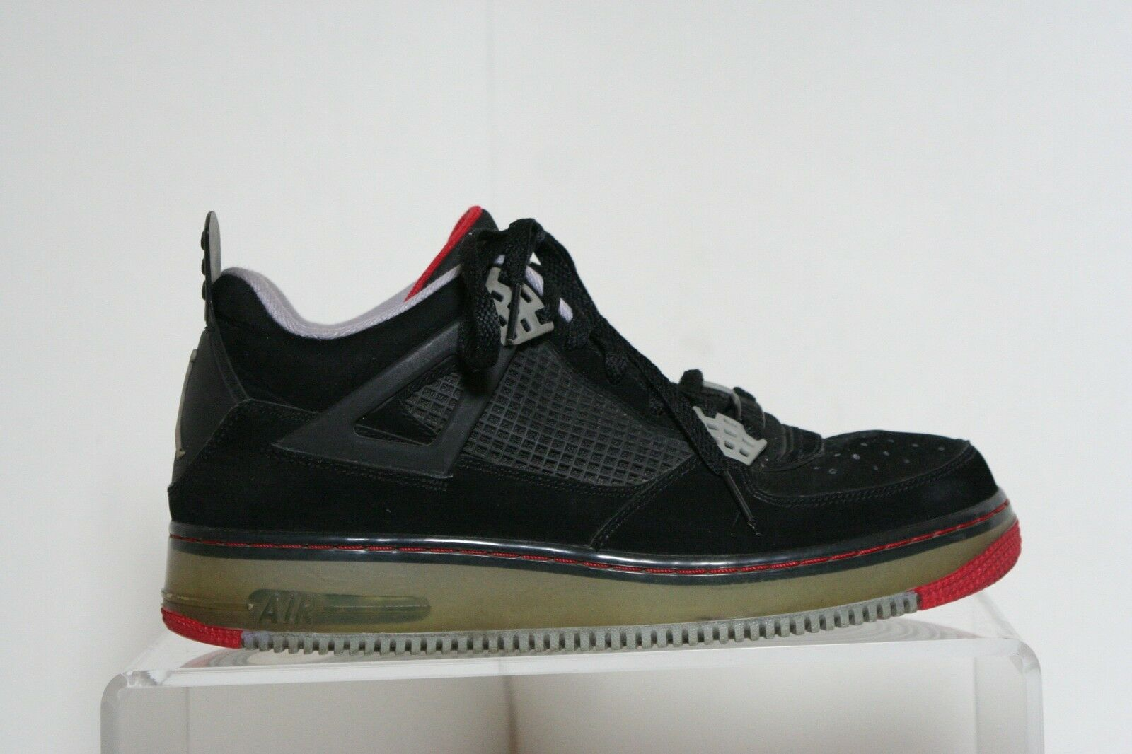 new styles 6e25c 1b8de Nike AJF IV 4 Air Jordan Fusion Force Force Force 2009 VTG Men 9 Multi Bred  Athletic Sneaker dfac07