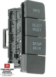 OEM NEW! Toyota Tundra 2008-2013 Drive Monitor Info Switch Mod