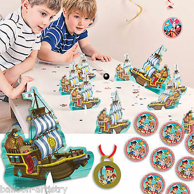 24 Piece Jake And The Never Land Pirates Pirate Cannon Ball Bowling Party Game