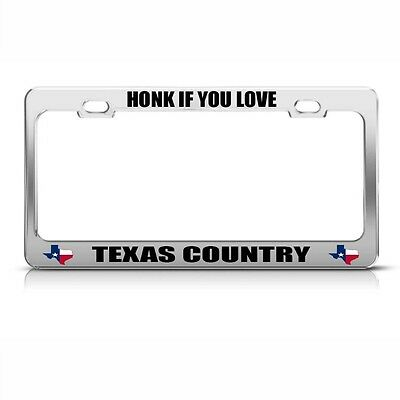 HONK IF YOU LOVE BIGFOOT License Plate Frame