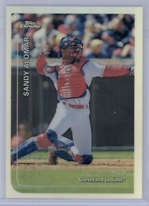 1999-Topps-Chrome-Sandy-Alomar-JR-245-Refractor-Cleveland-Indians-SP
