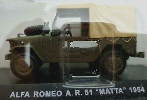 Alfa-Romeo-A-R-51-034-Matta-034-1954-Carabinieri-Scala-1-43-Atlas-Nuovo