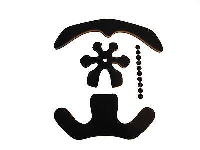 Kryptonics Kore Aftermarket Helmet Replacement Foam Pads Cushions Kit Liner Set