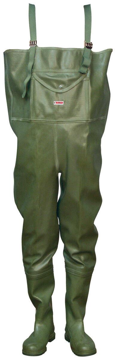 Tigar Impermeabili Gomma gomma naturale Gomma Rubber Pantaloni Pescatore Pantaloni Pantaloni per laghetto 3947