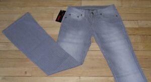Jeans-pour-Femme-W-32-L-34-Taille-Fr-42-NEUF-Ref-D072