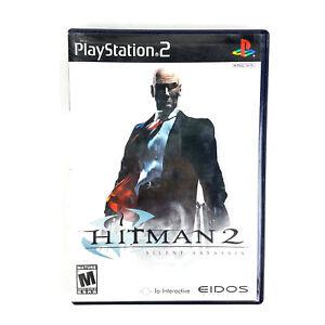 Hitman 2 Silent Assassin Sony Playstation 2 2003 Ps2 Black