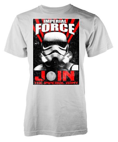 Star Wars inspirado Ejercito Imperial unirse a la fuerza imperial Adulto T-Shirt