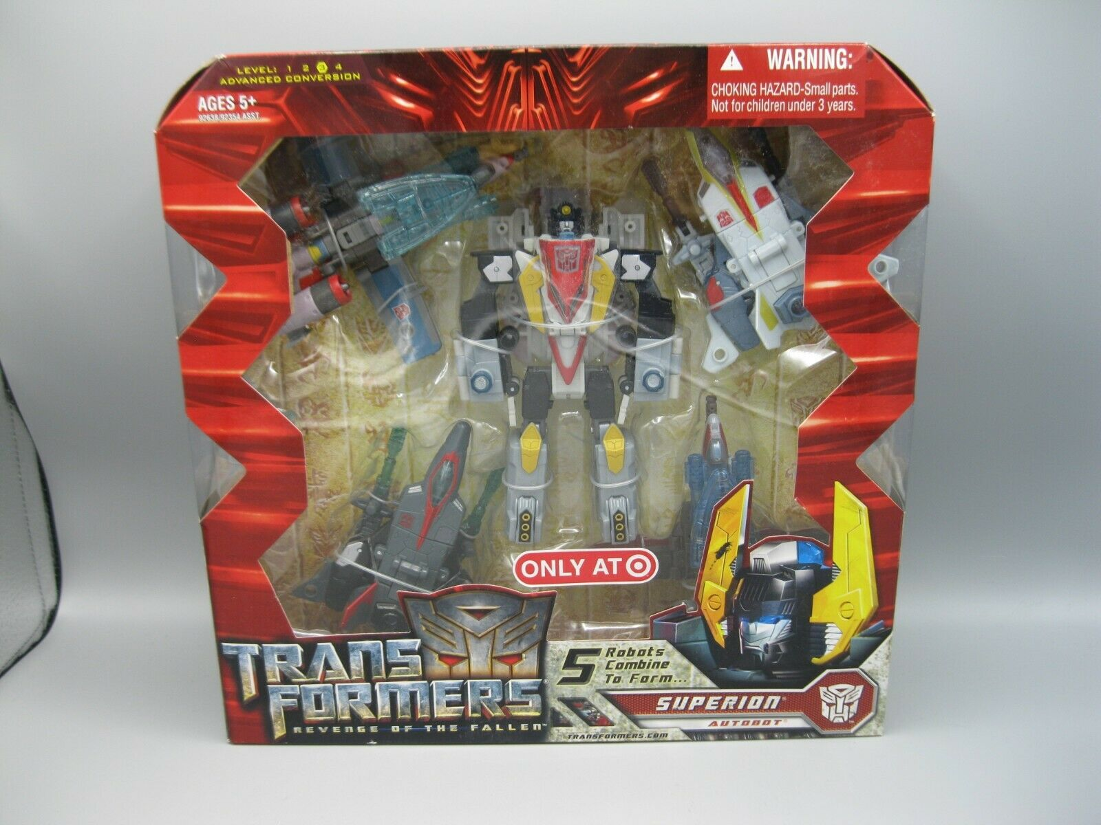 2008 Hasbro Transformers Revenge of the Fallen Superion Autobot only at Target