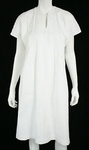 DOSA-White-Cotton-Cap-Sleeve-Oversized-Shift-Dress-O-S