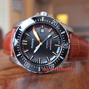43mm-PARNIS-black-dial-Ceramic-bezel-sapphire-20atm-automatic-mens-diving-watch