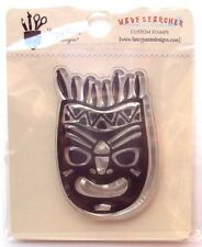 """Wave Searcher Clear Stamp 2""""X2"""" Warrior Mask - NEW"""