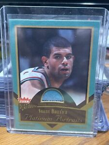 2002-03 Fleer Platinum Portraits Game Worn Jerseys #SB Shane Battier 2 Color