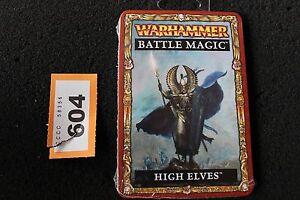 Games Workshop Warhammer High Elves Elf Battle Magic Cards Fantasy New Sealed GW